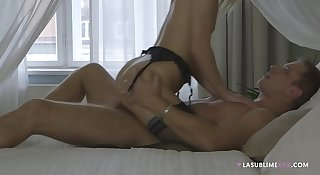 LaSublimeXXX Violette Pink's private romantic Anal sex
